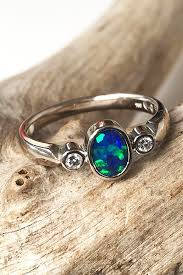 black opal engagement rings 24 opal engagement rings for the modern brides oh so