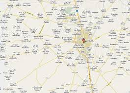 louisiana map city names gujranwala map of city and its surrounding villages towns and