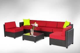 Converting Outdoor Sofa Alcee Resin Wicker Outdoor Sofa And Cushion Coffee Table Loversiq