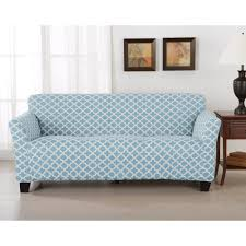 How To Make A Slipcover For A Sleeper Sofa Modern Slipcover Sofa Mid Century White Slipcovered Mccreary
