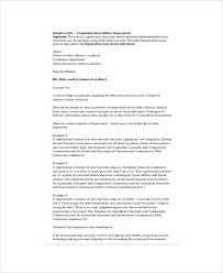 complaint letter template 8 free word pdf documents download