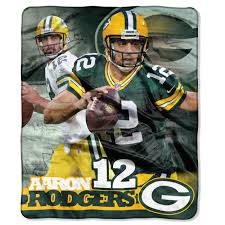 green bay packers aaron rodgers silk touch throw blanket at the packers aaron rodgers silk touch throw blanket