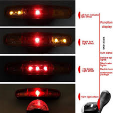 where to get brake light fixed 7 led bicycle bike turn signal directional brake light l 8 sound