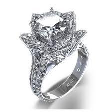 wedding rings luxury images Diamond flower wedding rings wedding rings ideas jpg