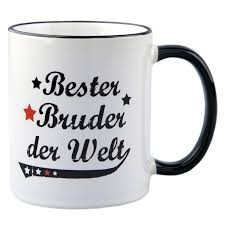 hochzeitsgeschenke bruder tasse bester bruder der welt geschenk bestellen kaufen