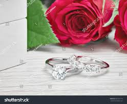 diamond rings box images Diamond rings next white engagement ring stock photo edit now jpg