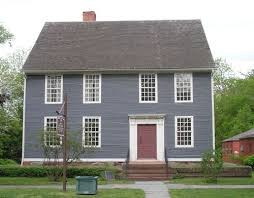 Saltbox Colonial Different Color Barn Than House The Saltbox Colonial Exterior