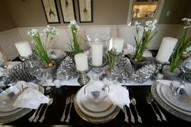 black and silver table decorations ohio trm furniture