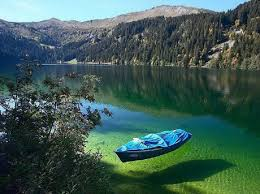 this lake is the clearest in the world but you will never swim in