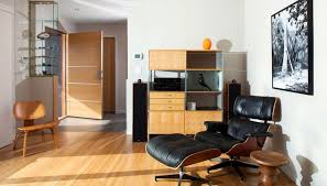 Eames Chair Living Room Tremendeous The Eames Lounge Chair Iconic Comfortable And