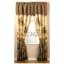 Leopard Curtains Cotton Blend Animal Print Curtains Drapes U0026 Valances Ebay