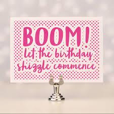 Birthday Card Holder Boom Birthday Card By Bread Jam Notonthehighstreet Com