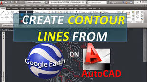 autocad tutorials tips and tricks create contour lines from