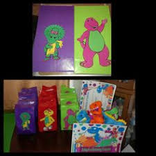 Diy Barney Decorations These Look So Fun Daniel U0027s Birthdays Pinterest Barney