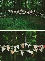 Backyard Wedding Decorations Colorful Backyard Wedding