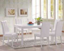 faux leather dining room chairs metal faux leather solid brown counter height white kitchen table