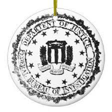 fbi tree decorations ornaments zazzle co uk