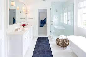 Contemporary Bathroom Rugs Bathroom Runner Rugs Simpletask Club