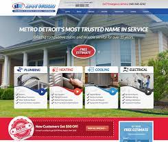 Basic Home Hvac Design Free Hvac Website Design U0026 Marketing Consultation High Level