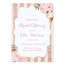 bridal shower invitation gold bridal shower invitation zazzle
