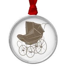 baby carriage ornaments keepsake ornaments zazzle