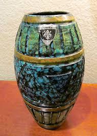 Italian Vase 1950 U0027s Modernist Italian Pottery Vase Florentine Original Made In