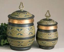 decorative canister sets kitchen decorative canister sets set of 3 glass canister jars