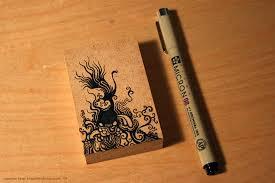artwork on wood wood doodle artwork by yang