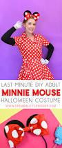 diy minnie mouse costume adults dream bigger