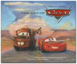 disney books art cars