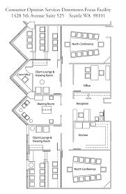 facility floor plan downtown seattle focus group facilities floor plan consumer
