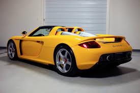 porsche carrera 2005 2005 porsche carrera gt fayence yellow 572 miles sloan cars