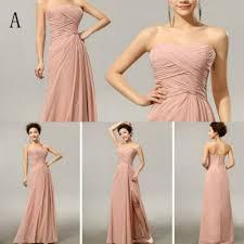 Cheap Brides Dresses Aliexpress Com Buy Cx Shine Chiffon Split Long Bridesmaid