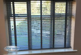 ash grey wooden blinds harmony blinds of bolton and chorley