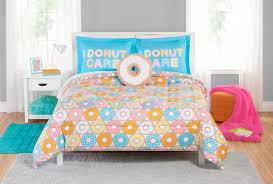 Duvet Donuts Mainstays Donut Comforter Set Walmart Com