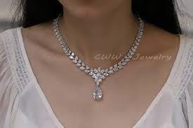 big diamond earrings cwwzircons luxury bridal costume jewelry big teardrop zirconia