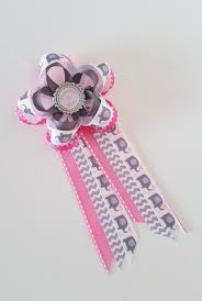 elephant baby shower pin pink elephant mommy to be corsage
