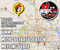 Buc Ee S Location Map Houston Mini Motoring Society Minis In The Heart Of Texas 2015