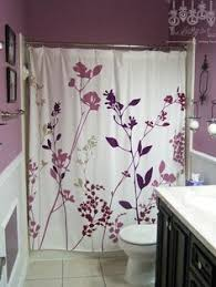 light purple shower curtain purple gray and white bathroom macysdreamfund dream home