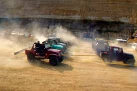 toyota trucks and suvs video one diesel caterpillar vs twenty toyotas any bets