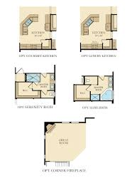 Main Level Floor Plans Lindbergh New Home Plan In Falmoor Glen By Lennar