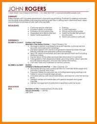 Experience For Resume No Work Experience Example Of A Resume With No Work Experience Sample Resume For