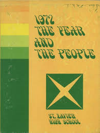 st yearbook 1972 st xavier high school yearbook online louisville ky