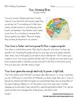 seventh grade reading comprehension worksheet your amazing brain