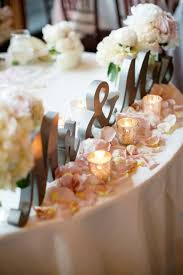 wedding table decoration ideas best 25 bridal table decorations ideas on table