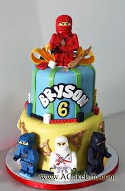 ninjago cake bryson s 6th birthday ninjago cake a cake