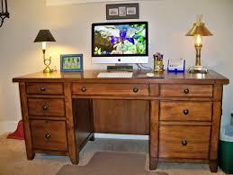 Brilliant Modern Office Desk With Rectangle Sleek Floating Table - Computer desk designs for home