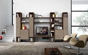 Leaning Bookshelf With Desk Wall Units Astounding Wall Units Living Room Mesmerizing Wall