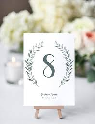 table numbers wedding rustic printable wedding table numbers template connie joan