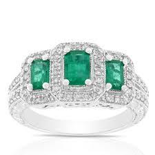 and emerald engagement rings emerald cut engagement rings ben bridge jeweler